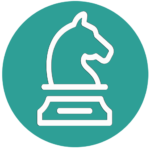 Strategy chess horse